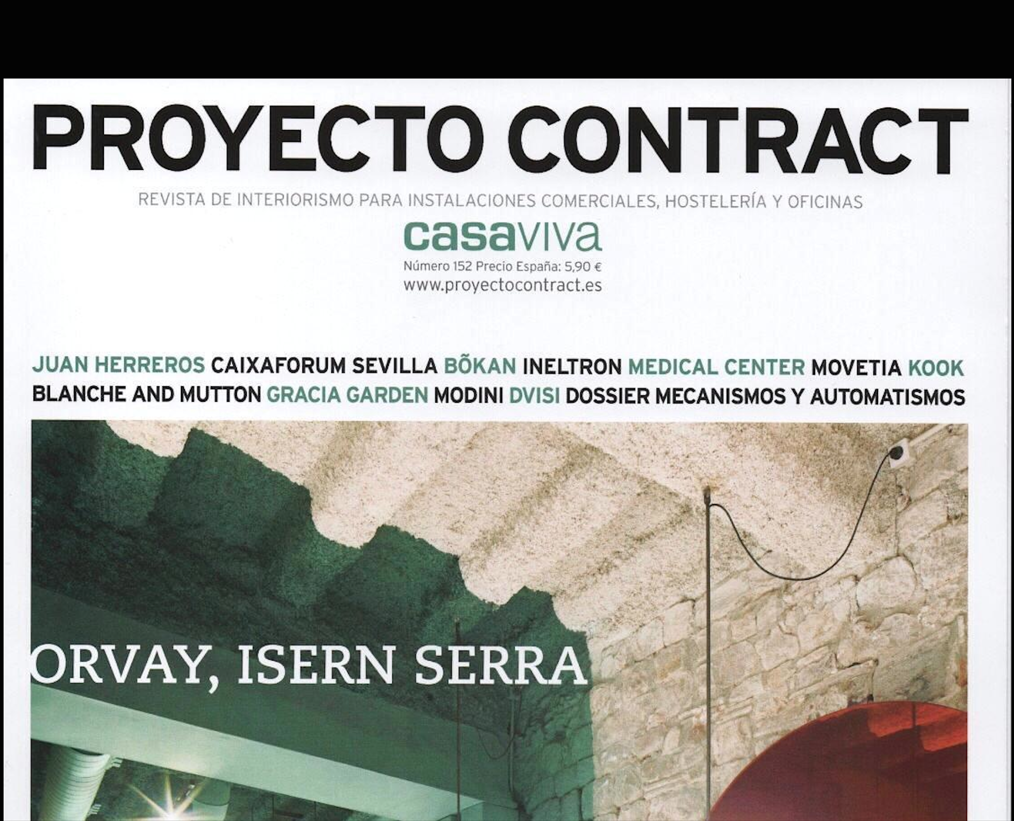 Victoria Interiors en la revista Proyecto Contract.